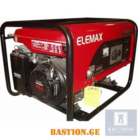 Бензиновый электрогенератор Elemax SH7600EX-S (Sawafuji)