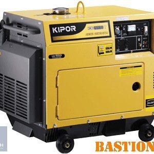 Дизельный электрогенератор KIPOR KDE6500T (5.5 кВт)