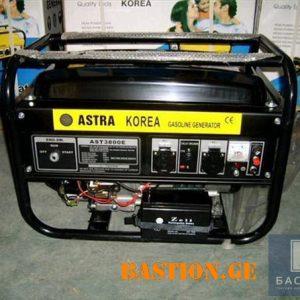 Бензиновый электрогенератор ASTRA KOREA AST 8000E (6.5 кВт)
