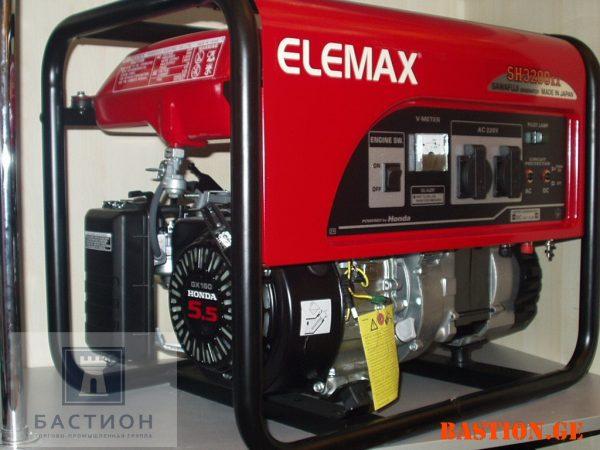 Бензиновый электрогенератор Elemax SH3200 (Sawafuji) (2,6 кВт)